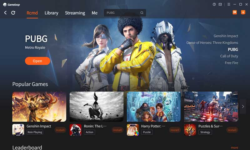 Gameloop New User Interface
