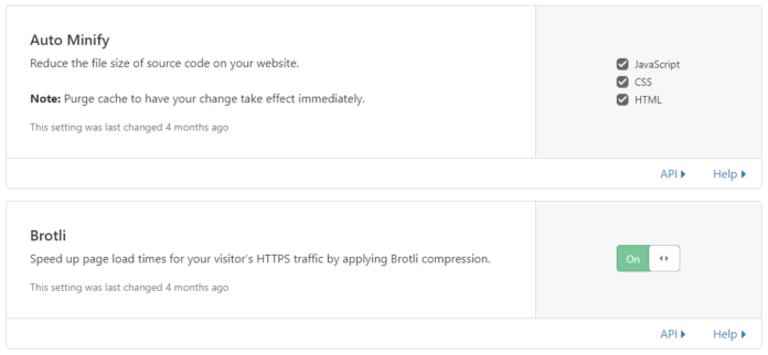 Minify Cloudflare